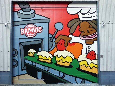 restaurant graffiti 01