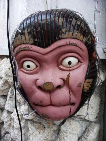 noh monkey mask