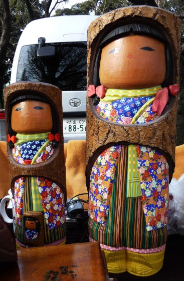 log dolls