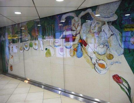 Shinjuku station art