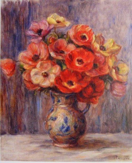 Pola Museum of Art Anemones by Renoir 1880s