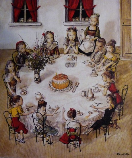 Pola Museum of Art Leonard Foujita Birthday 1958