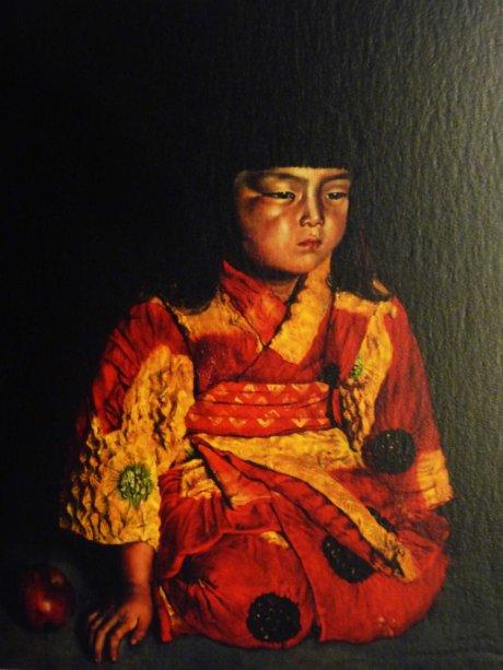 Pola Museum of Art Ryusei portrait of a Reiko sitting 1919