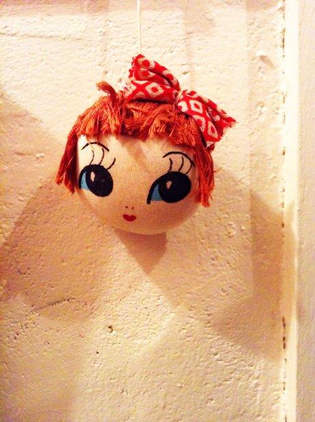 doll's head