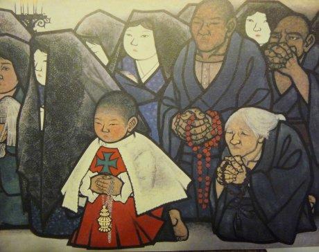 Oyama Katashi Amakusa Praying