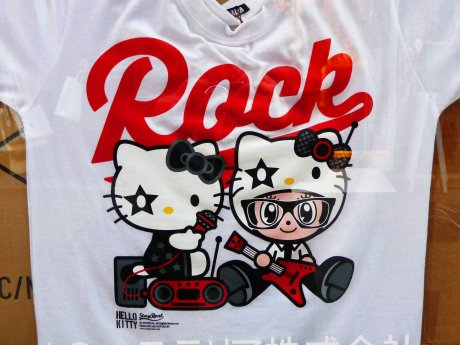 Hello Kitty rock tshirt