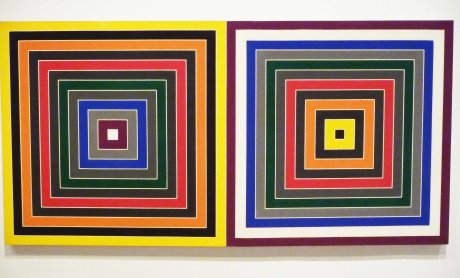 Gray Scramble XII double by Frank Stella 1968 (2)